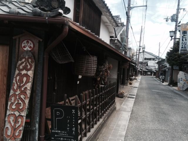 篠山城辺り