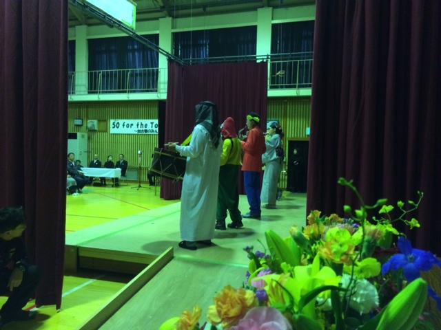 加古川養護学校創立50周年記念式典