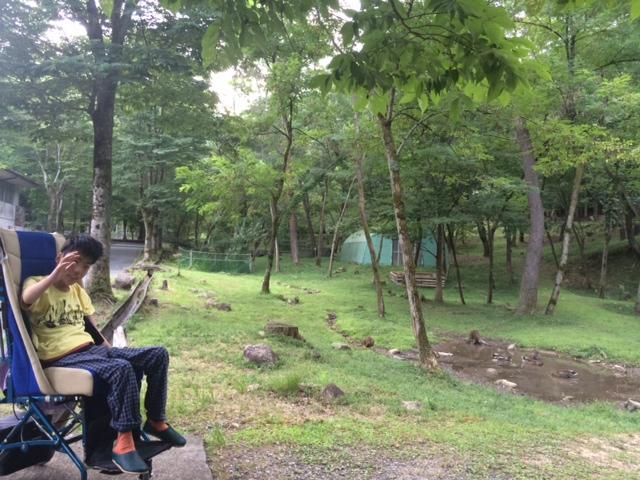連合キャンプ 初日