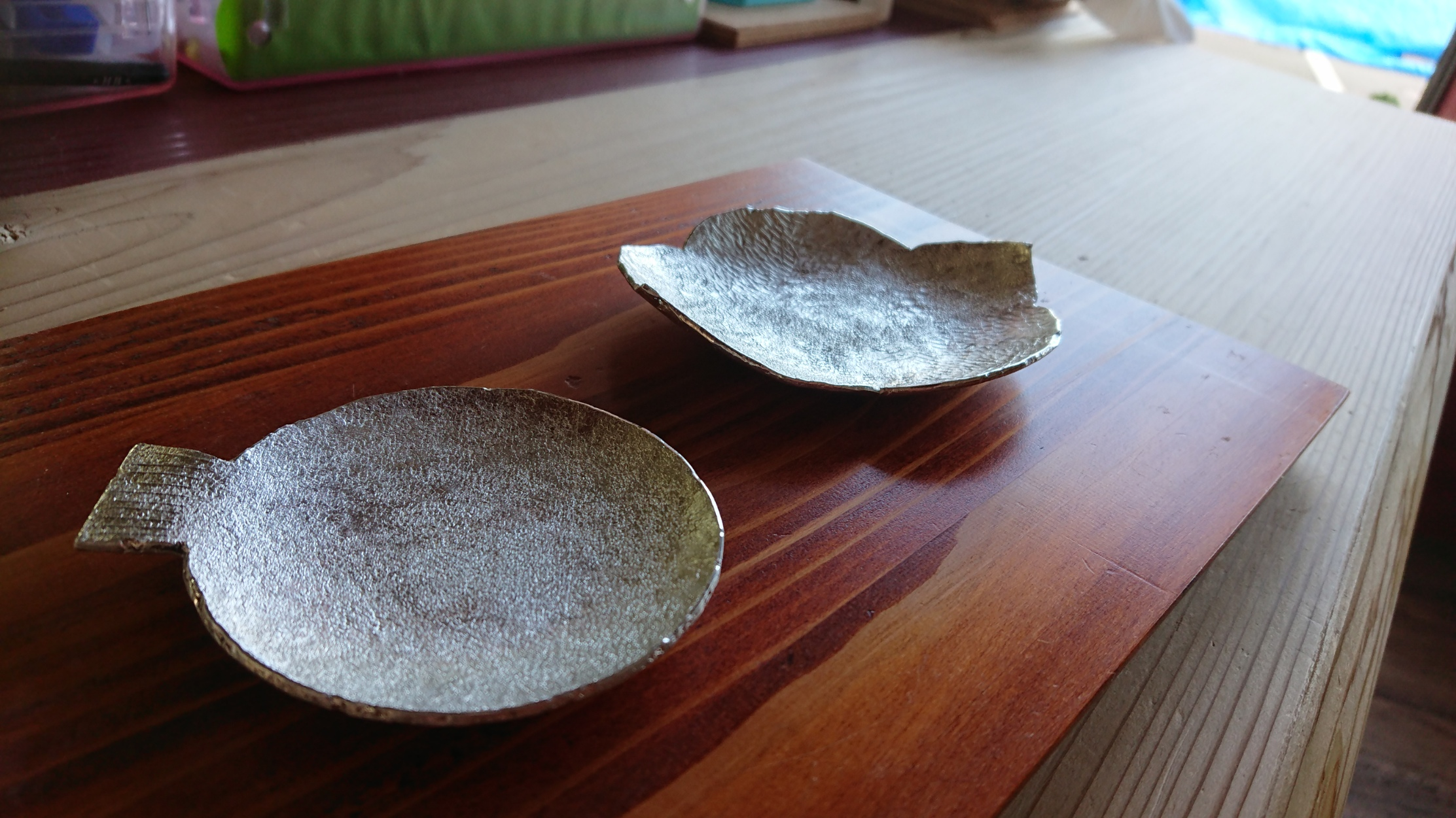 すずの豆皿ワークショップ